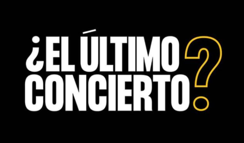 campaña el ultimo concierto