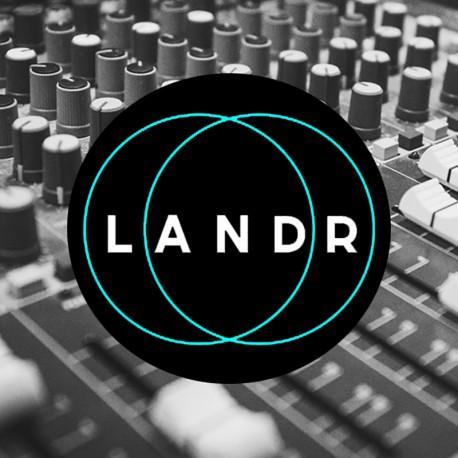 Masterización via LANDR