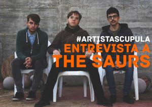 foto entrevista the saurs