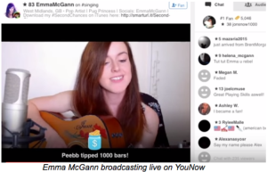 streaming YouNow