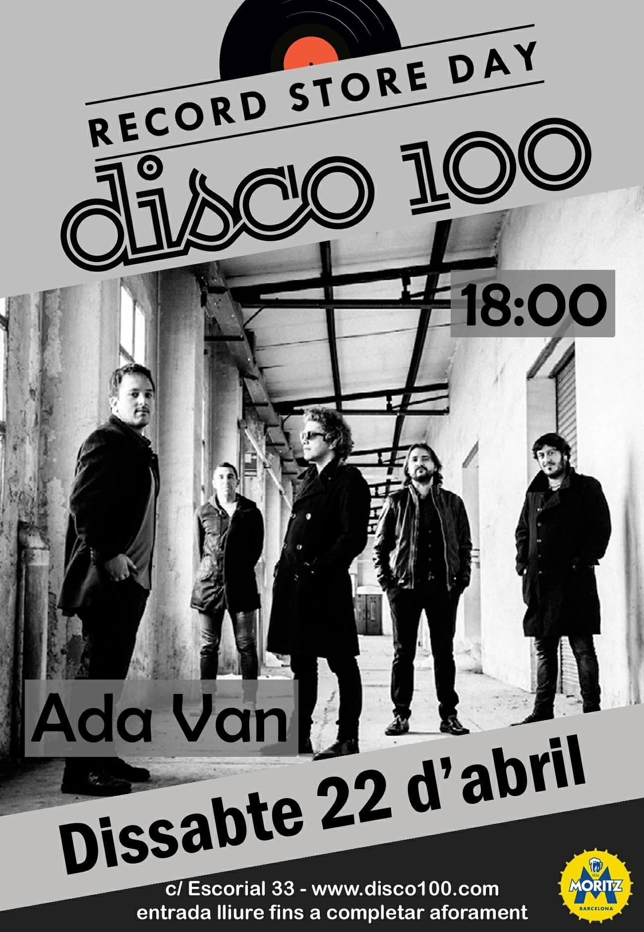 Ada Van Record Store 2017